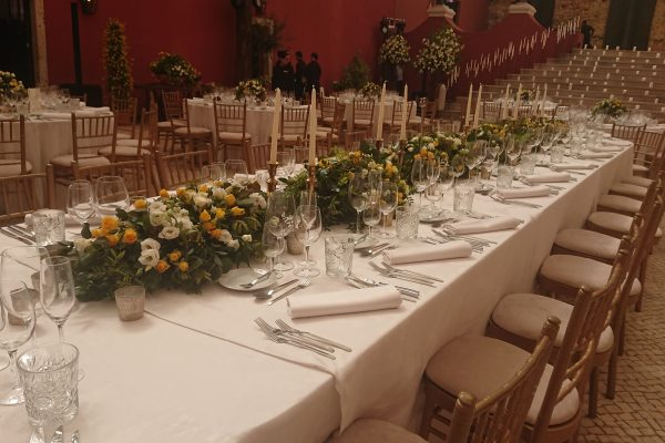 Top table fit for the kings and queens of fashion
